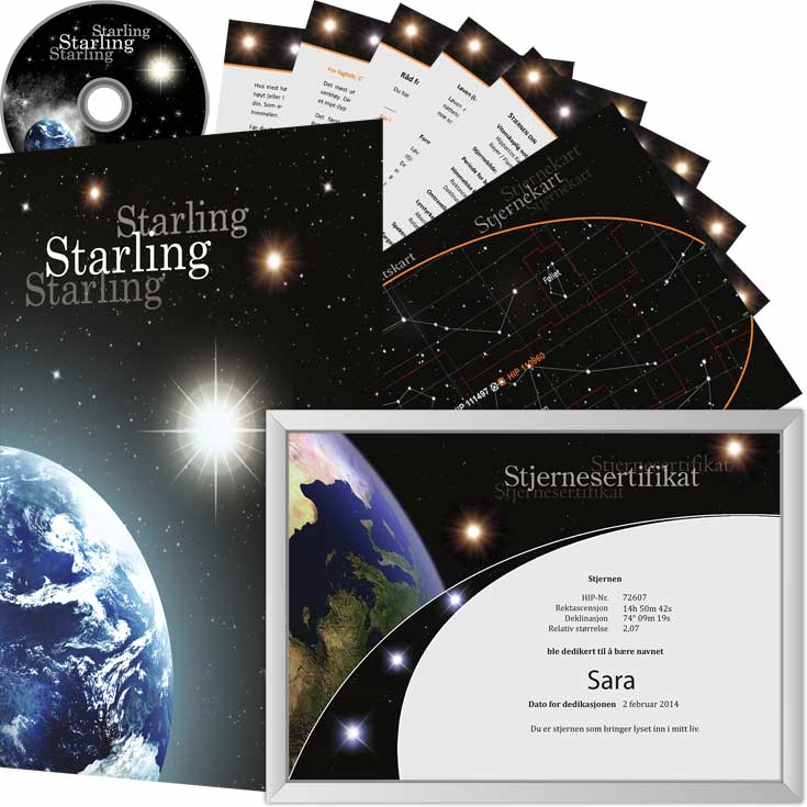 Kjøp en stjerne package